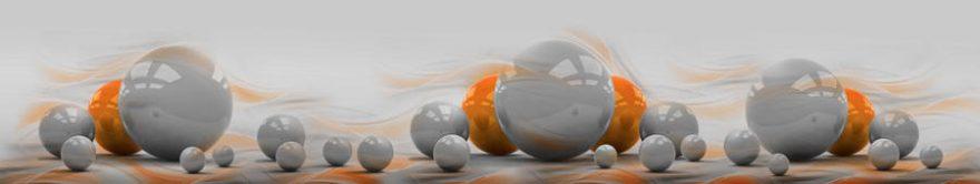 Изображение для стеклянного кухонного фартука, скинали: абстракция, fartux897